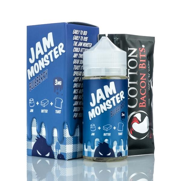 jam monster blueberry e-juice 100ml