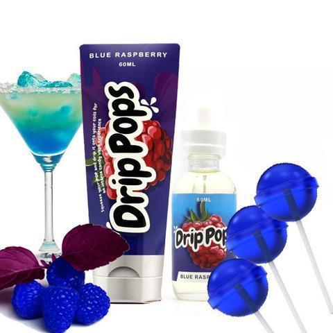 Drip Pops Blue Raspberry by 7Daze (60mL)