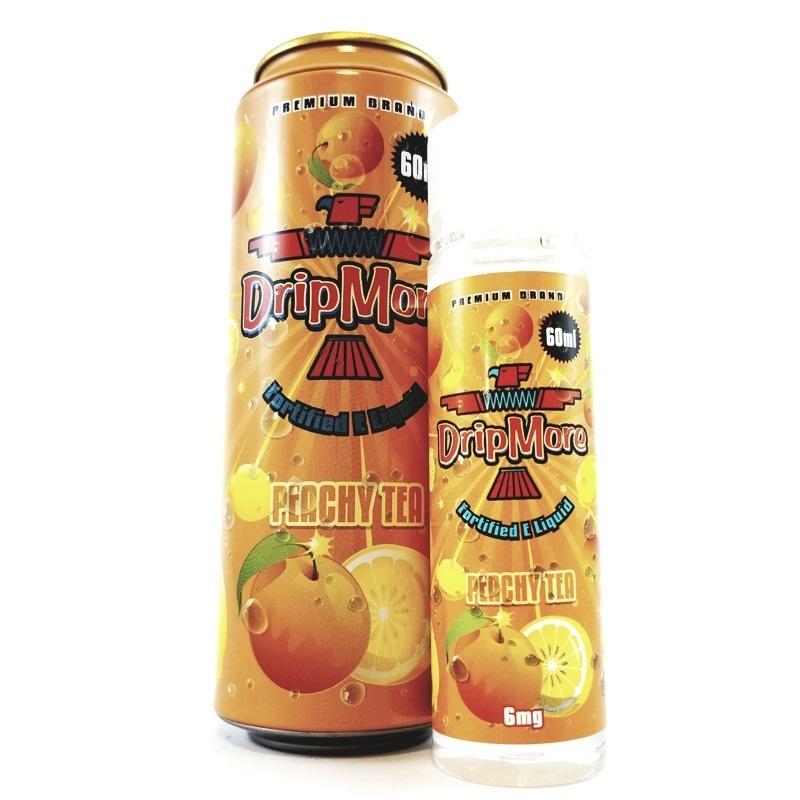 Peachy Tea - Ice Tea E-Liquids by Drip More (60mL)