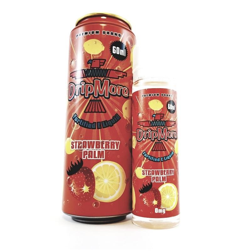 Strawberry Palm - Ice Tea E-Liquids by Drip More (60mL)